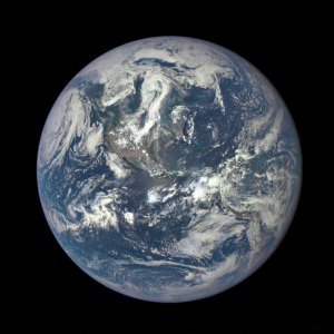 July 6, 2015 - A NASA camera on the Deep Space Climate Observatory satellite has returned its first view of the entire sunlit side of Earth from one million miles away. https://www.nasa.gov/image-feature/nasa-captures-epic-earth-image
